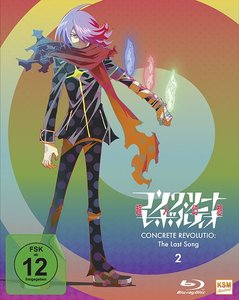 Concrete Revolutio - The Last Song. Staffel.2.2, 1 Blu-ray