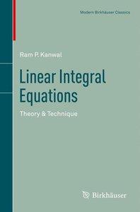 Linear Integral Equations