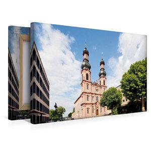 Premium Textil-Leinwand 45 cm x 30 cm quer Sankt Peterkirche