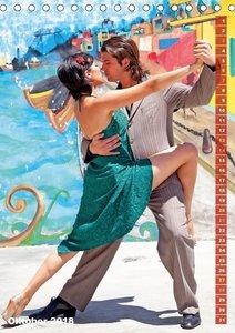 Tango - Getanzte Leidenschaft (Tischkalender 2018 DIN A5 hoch)
