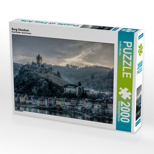 Burg Chochem 2000 Teile Puzzle quer