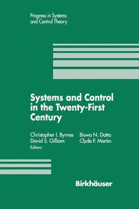 Systems and Control in the Twenty-First Century