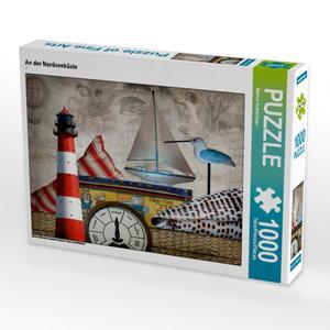 An der Nordseeküste 1000 Teile Puzzle quer