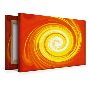 Premium Textil-Leinwand 45 cm x 30 cm quer Energie