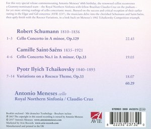 Saint-Saens/Schumann/Tchaikovsky