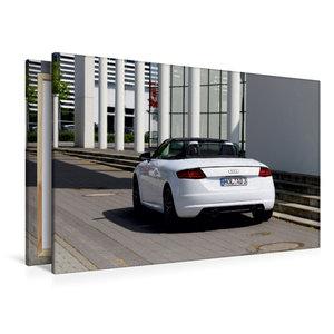Premium Textil-Leinwand 120 cm x 80 cm quer TT Roadster 8S Farbe