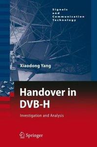 Handover in DVB-H