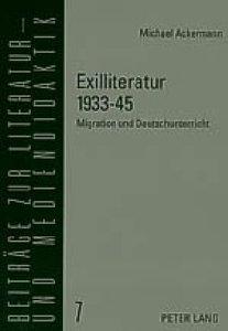Exilliteratur 1933-45