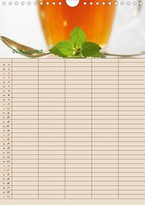 Tee - Liebhaber Jahresplaner