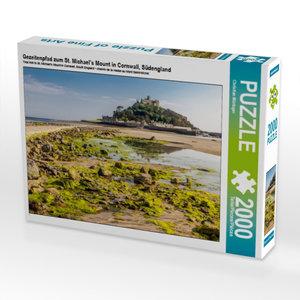 Gezeitenpfad zum St. Michael?s Mount in Cornwall, Südengland 200