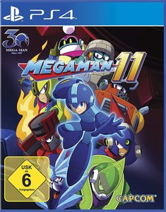 Megaman 11, 1 PS4-Blu-ray Disc