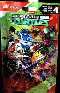 Mega Construx Teenage Mutant Ninja Turtles Mikro-Aktions-Figuren