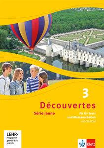 Découvertes 3. Fit für Tests und Klassenarbeiten mit CD-ROM und