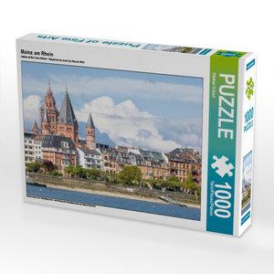 Mainz am Rhein 1000 Teile Puzzle quer