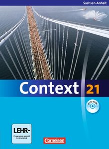 Context 21. Schülerbuch mit DVD-ROM. Sachsen-Anhalt