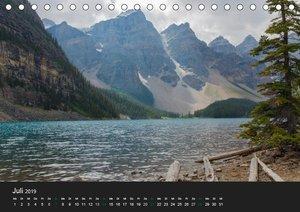 West-Kanada (Tischkalender 2019 DIN A5 quer)