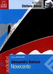 Baricco, A: Novecento letto da Stefano Benni. Audiolibro. CD