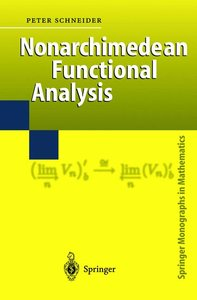 Nonarchimedean Functional Analysis
