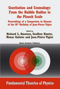 Gravitation and Cosmology: From the Hubble Radius to the Planck