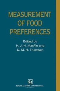 Measurement of Food Preferences