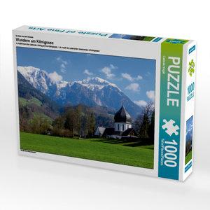 Ein Motiv aus dem Kalender Wandern am Königssee 1000 Teile Puzzl
