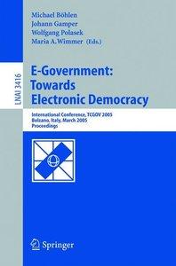 E-Government: Towards Electronic Democracy