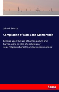 Compilation of Notes and Memoranda