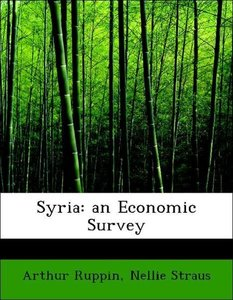 Syria: an Economic Survey
