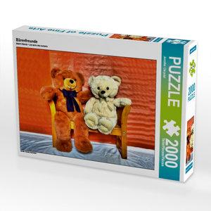 CALVENDO Puzzle Bärenfreunde 2000 Teile Lege-Größe 90 x 67 cm Fo