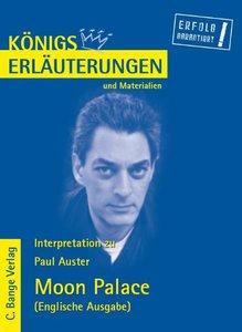 Interpretation zu Paul Auster. Moon Palace