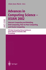 Advances in Computing Science - ASIAN 2002. Internet Computing a