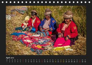 Peru, die Inkas und ihre Ahnen (Tischkalender 2019 DIN A5 quer)