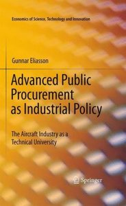 Advanced Public Procurement as Industrial Policy
