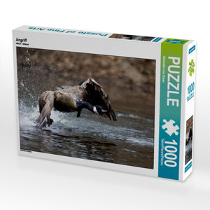 Angriff 1000 Teile Puzzle quer