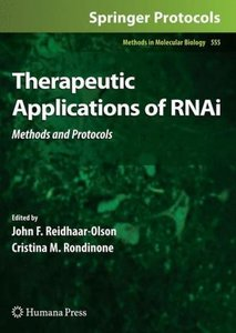 Therapeutic Applications of RNAi