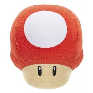 Nintendo - Plüschfigur Mushroom 1Up Pilz mit Sound, 13 cm
