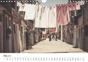 Venedig - Stille Ansichten (Wandkalender 2019 DIN A4 quer)