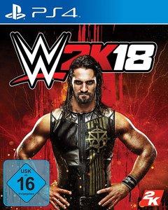 WWE 2K18, 1 PS4-Blu-ray-Disc