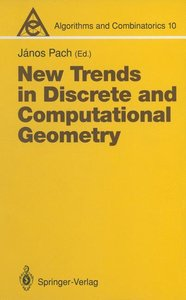 New Trends in Discrete and Computational Geometry
