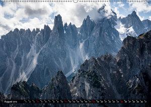 Dolomiten - Rundreise um Drei Zinnen (Wandkalender 2019 DIN A2 q