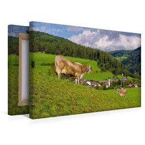 Premium Textil-Leinwand 45 cm x 30 cm quer St. Lorenzen