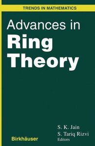 Advances in Ring Theory