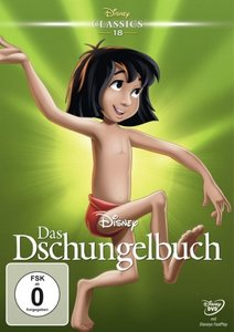 Das Dschungelbuch, DVD