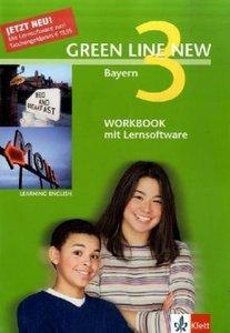 Green Line New 3. Workbook mit Audio-CD und CD-ROM. Bayern