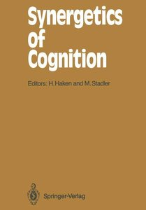 Synergetics of Cognition