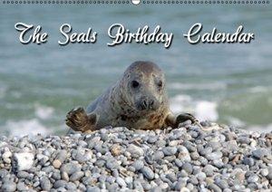 The Seals / UK-Version / Birthday Calendar (Wall Calendar perpet