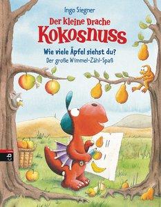 Drache Kokosnuss Pappbilderbuch - Wimmel-Zählbuch