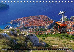 Dubrovnik - Perle der Adria (Tischkalender 2019 DIN A5 quer)