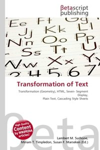 Transformation of Text