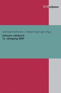 Johnson-Jahrbuch Bd. 16 / 2009